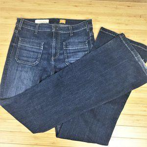 Anthropologie Pilcro Letterpress Blue Jeans 30